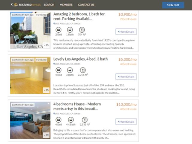 Featured Rentals: Apartments & Homes screenshot 15