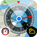 Icon for All GPS Tools Pro (Compass, Weather, Map Location)