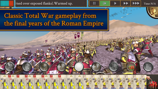 ROME: Total War - Barbarian Invasion screenshot 1