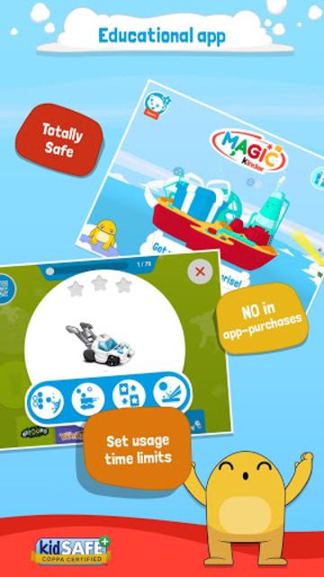 Magic Kinder Official App - Free Family Games screenshot 1