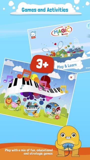 Magic Kinder Official App - Free Family Games screenshot 3