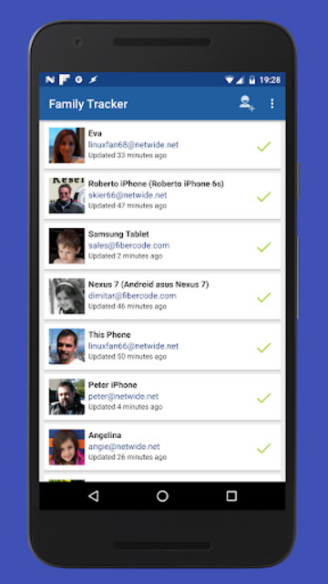 Family Tracker screenshot 1