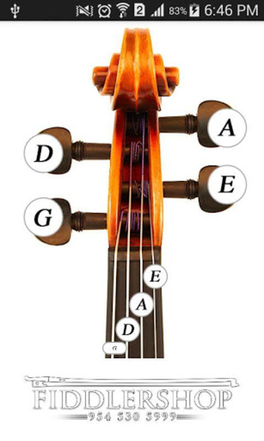 Fiddlerman Violin and Fiddle Tuning Guide screenshot 1