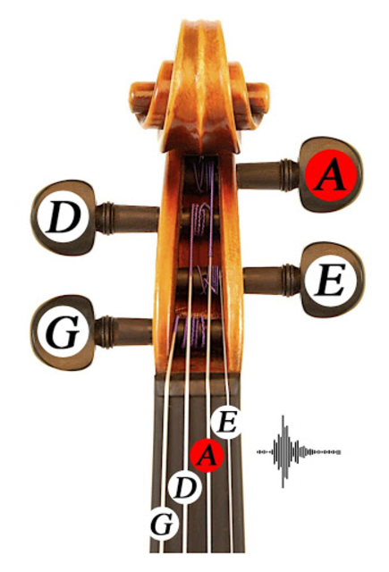 Fiddlerman Violin and Fiddle Tuning Guide screenshot 2