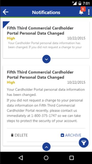 Fifth Third Commercial Card screenshot 4