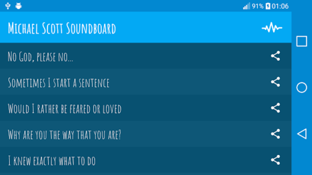 Michael Scott Soundboard screenshot 3