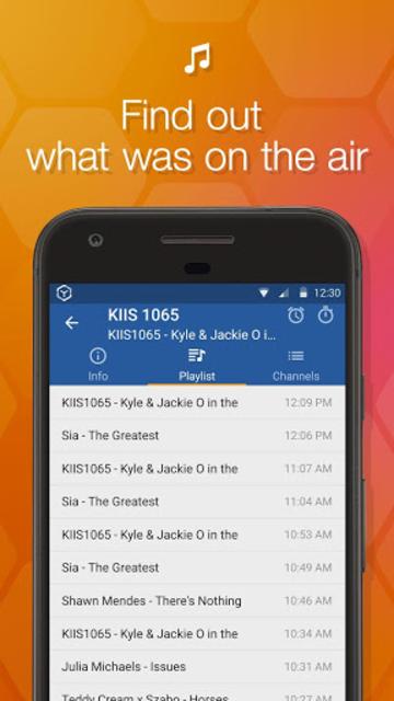 Online Radio Box - free player screenshot 3
