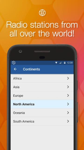 Online Radio Box - free player screenshot 4