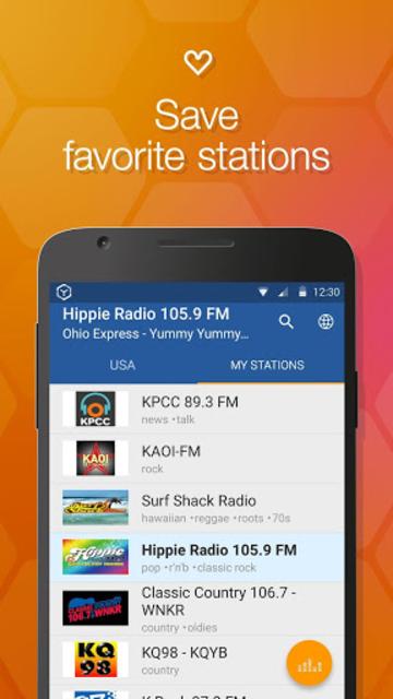 Online Radio Box - free player screenshot 5