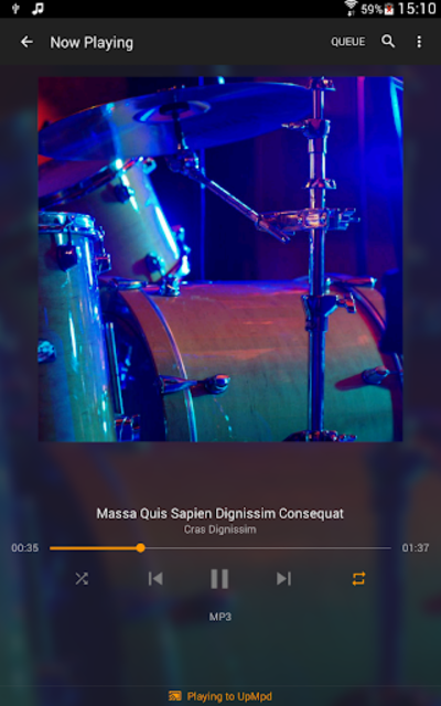 Hi-Fi Cast - Music Player screenshot 12