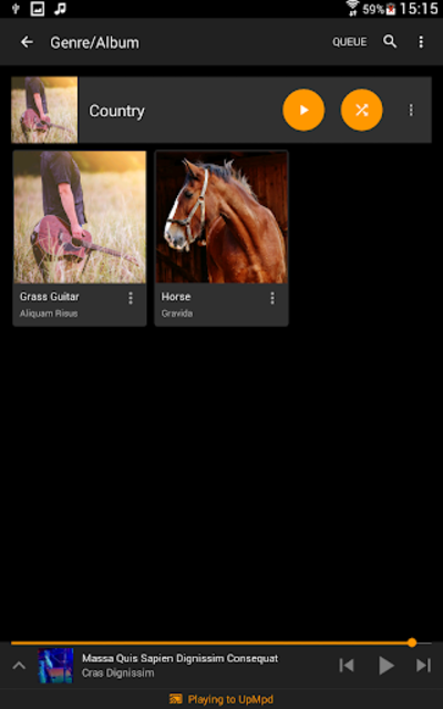 Hi-Fi Cast - Music Player screenshot 14
