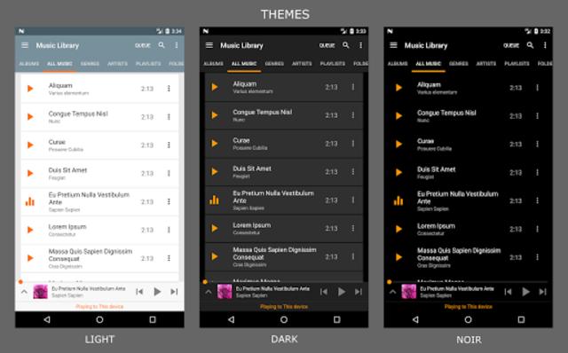 Hi-Fi Cast - Music Player screenshot 4