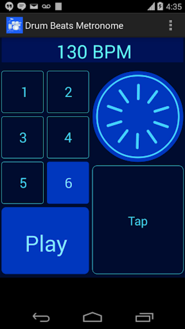 Drum Beats Metronome screenshot 2