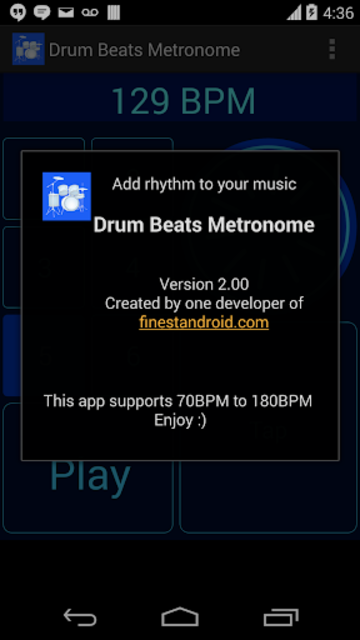 Drum Beats Metronome screenshot 9