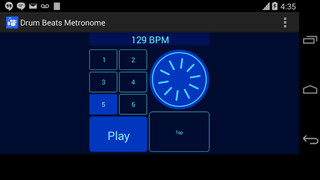 Drum Beats Metronome screenshot 3
