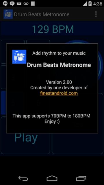 Drum Beats Metronome screenshot 9