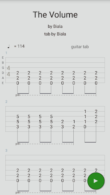 Guitar Tabs X screenshot 1