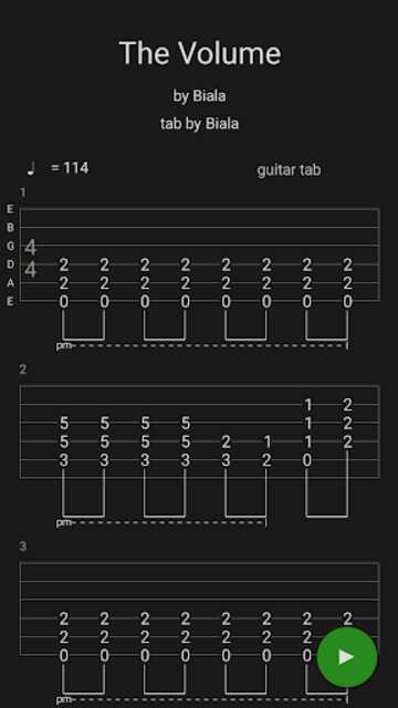 Guitar Tabs X screenshot 5