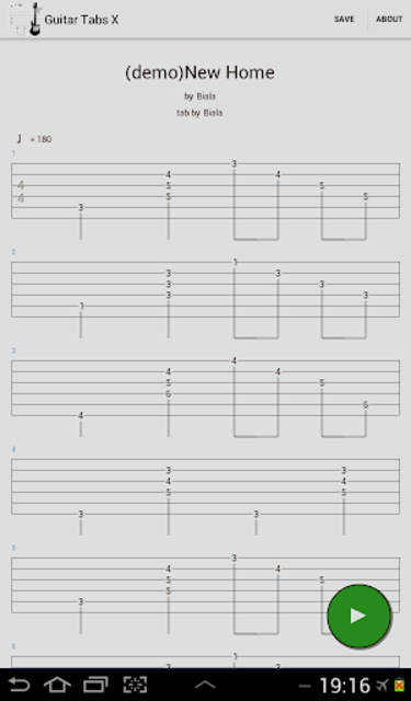 Guitar Tabs X screenshot 15