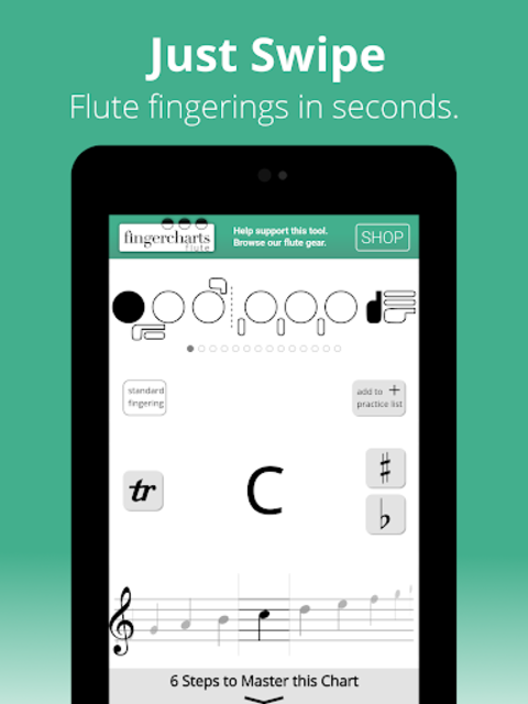 Complete Fingerings for the Flute screenshot 9