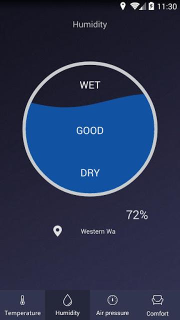 Thermometer - Hygrometer & Ambient Temperature app screenshot 2