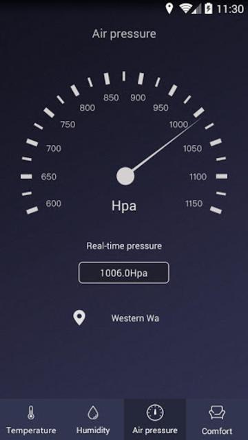 Thermometer - Hygrometer & Ambient Temperature app screenshot 3