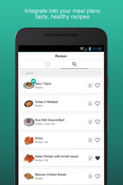 Fitness Meal Planner screenshot 3