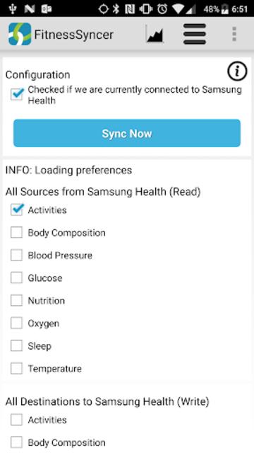 FitnessSyncer screenshot 3
