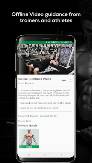 Fitvate - Gym Workout Trainer Fitness Coach Plans screenshot 5
