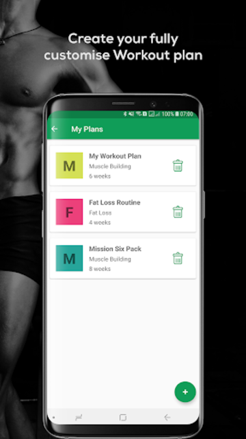 Fitvate - Gym Workout Trainer Fitness Coach Plans screenshot 8