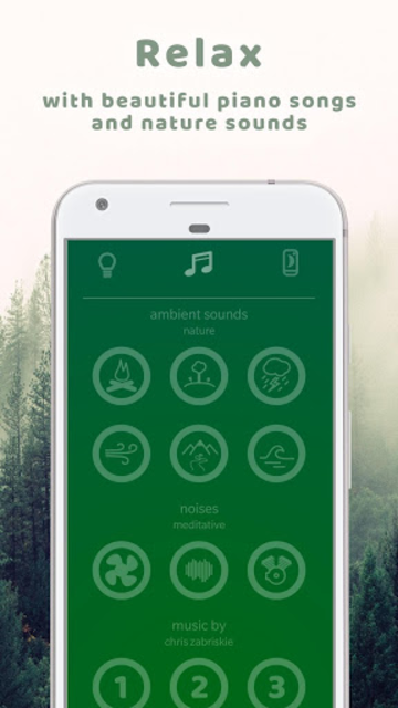 Dreaming Fox - nightlight, sleep music, meditation screenshot 2