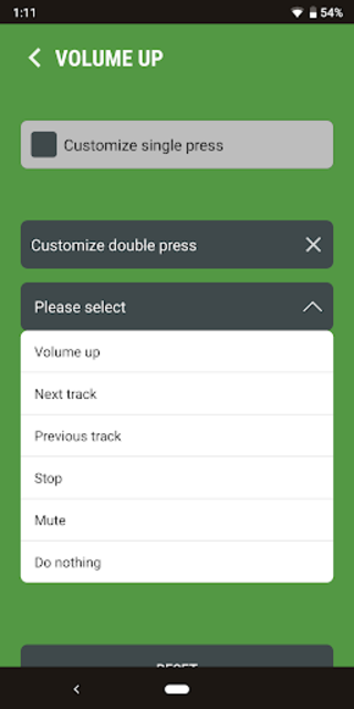 Next Track: Skip tracks with volume buttons screenshot 4