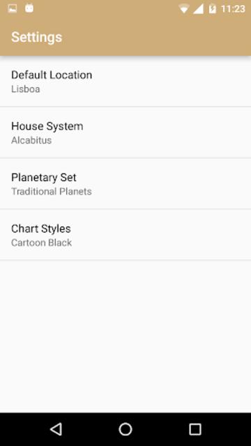 Astrology Charts screenshot 5