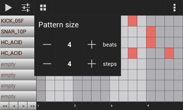 Groove Mixer. Music Beat Maker screenshot 4