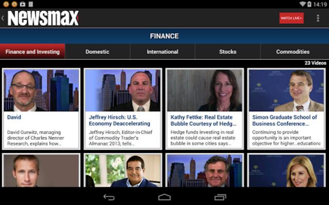 Newsmax TV & Web screenshot 12