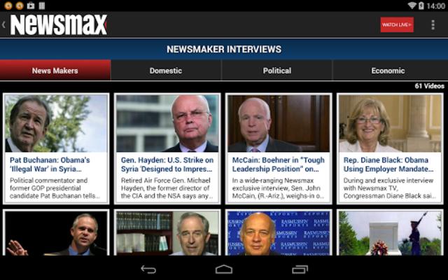 Newsmax TV & Web screenshot 13