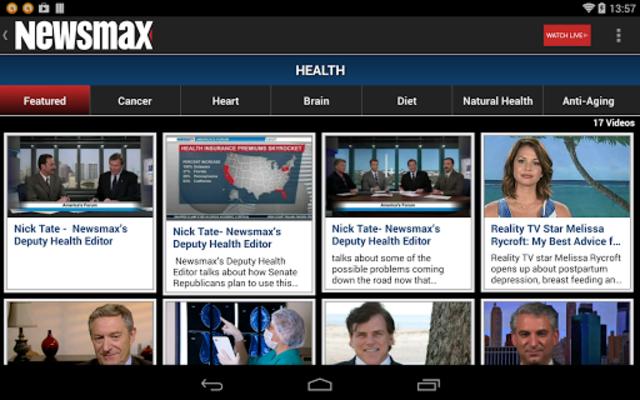 Newsmax TV & Web screenshot 14