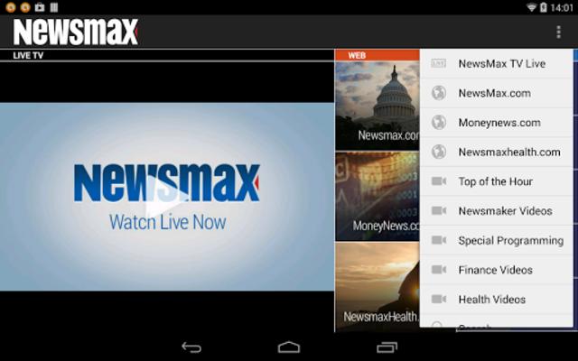 Newsmax TV & Web screenshot 9