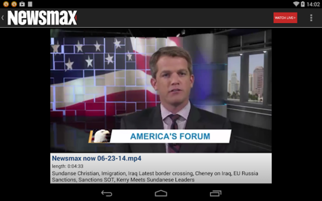 Newsmax TV & Web screenshot 10