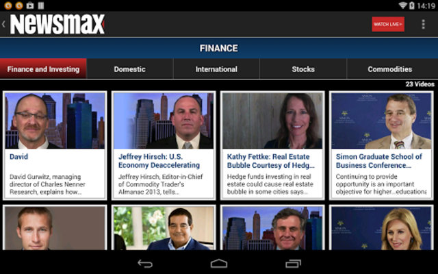 Newsmax TV & Web screenshot 19