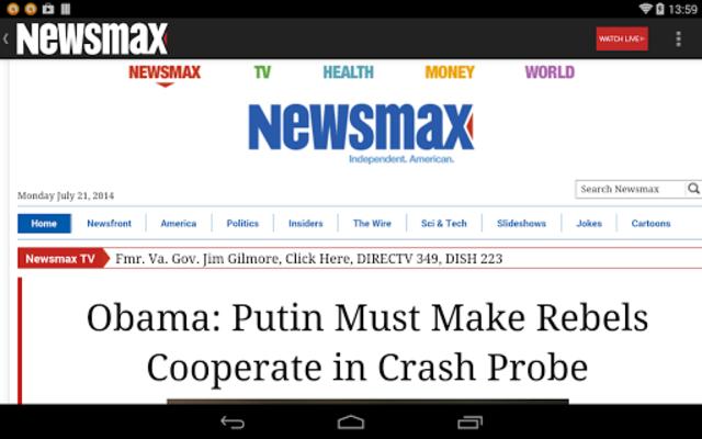 Newsmax TV & Web screenshot 22