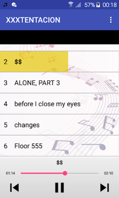 XXXTENTACION MP3 screenshot 1