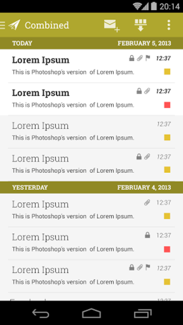 MailDroid Themes Plugin screenshot 7