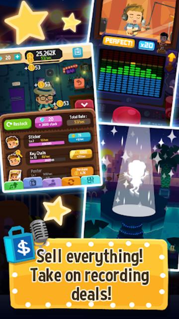 Beat Bop: Pop Star Clicker screenshot 3