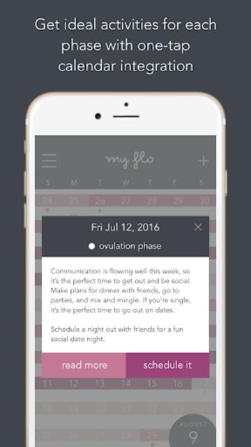 MyFLO Period Tracker screenshot 4
