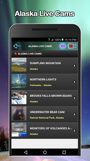 Alaska Weather and Live cams screenshot 4