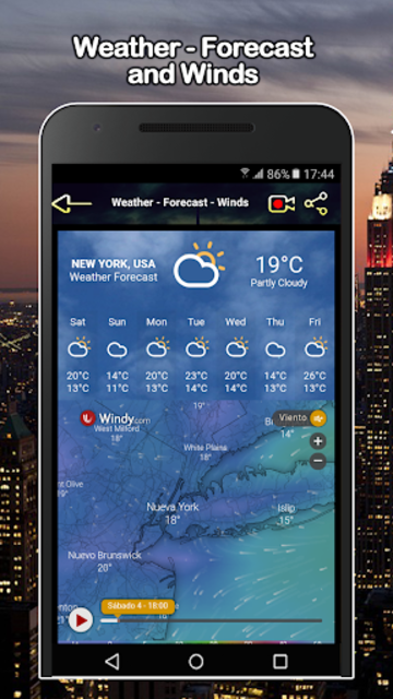 New York Weather and Livecams screenshot 1