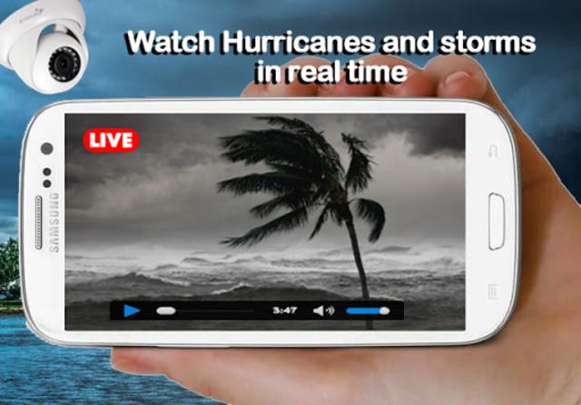 Hurricane and Storm Tracker screenshot 1