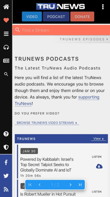 TruNews screenshot 2