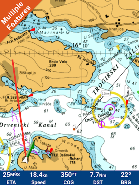 FlyToMap All in One GPS Charts Marine and Lakes screenshot 11